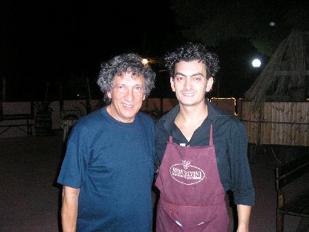 con Eugenio Bennato