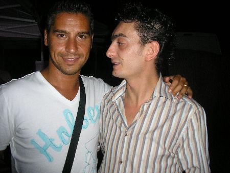 con Dennis Fantina